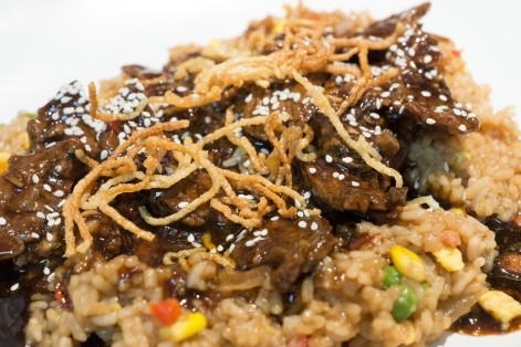 MONGOLIAN BEEF - Using the Mongolian Dip Mix - recipe can be found on the YIAH website (link below)