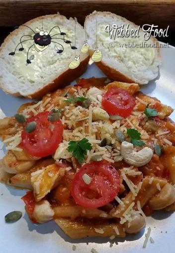 chicken pasta w